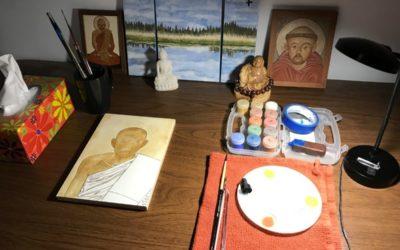 Icon: My Monastic Life's Journey Into Creativity